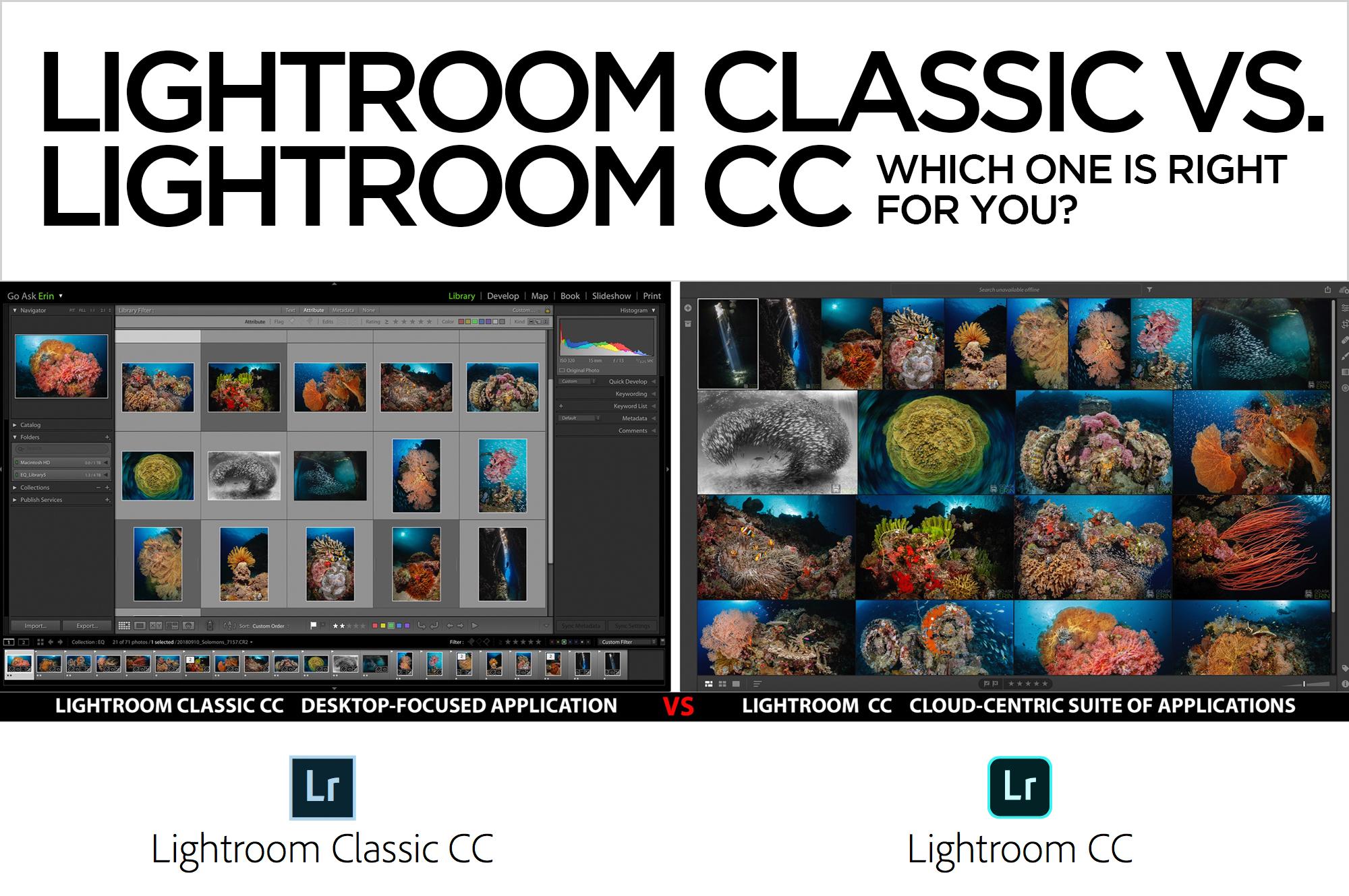 newest version of lightroom cc